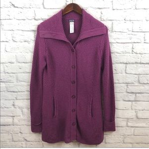 Patagonia Wool Sweater Coat